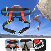 Outdoor Climb  Safety Belt Harness Rescue Rope Aerial Work Construction Durable