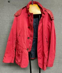 Very Cool Giorgio Armani Dark Red Jacket Made in Italy Size 48 IT / 38 US