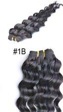 Yesurprise 14inch #1B Natural Black Deep Wave Virgin Remy Brazilian Human Hair