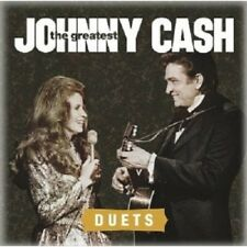 JOHNNY CASH - THE GREATEST: DUETS  CD+++++++++++++COUNTRY+++++++ NEUF