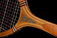 Antique 1920 Horace Partridge AMERICAN TATE Forest Hills Tennis Tennis Racket