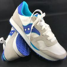 NEW Saucony DXN Jazz White Blue Womens Size 8.5 US, 40 EUR