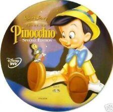 DISNEY DVD Pinocchio -  fuori catalogo con celophan