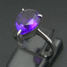 Anelli di lusso con gemme naturale in argento ametista