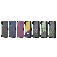 For Samsung Galaxy A70 A70s Case Belt Clip Holster Fits Otterbox Defender+Screen