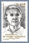 Timbre de 2003 - Geneviève de Gaulle Anthonioz 1920-2002  - N° 3544 Neuf