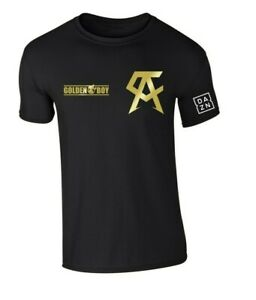 Canelo Saul Alvarez Golden Boy DAZN Black Sizes S M L XL XXL