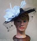 MIMCO Fair Lady Hat Fascinator Racer, BNWT, RRP$199