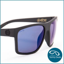 Von Zipper Dipstick Polarised Black Satin Blue Mirror (SMPDIP-PLC) Sunglasses