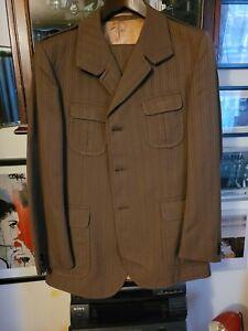 Mens Vintage 1970s Suit. Roger Moore. Persuaders.