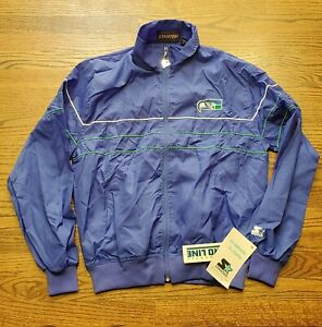 Vintage New Seattle Seahawks Starter Light Weight Jacket Wind Breaker Medium M