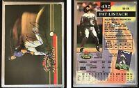 Pat Listach Signed 1993 Stadium Club #432 Card Milwaukee Brewers Auto Autograph
