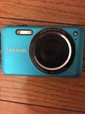 Samsung SL605 Compact Digital Camera 5x Blue