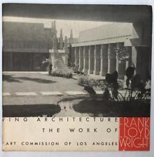 1953 ARCHITECTURAL CATALOGUE FRANK LLOYD WRIGHT GUGGENHEIM MUSEUM NEW YORK