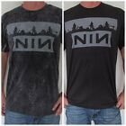 Unisex Nine Inch Nails Retro Rock T-Shirt (Tank-Top Vest Raglan) Sizes S M L XL