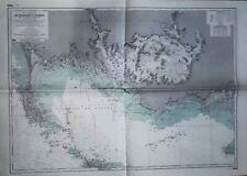 Carte marine de la Baie de QUIBERON