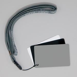 DGK Color Tools Optek Premium Reference White Balance Card Set- 3 Card Set- 3