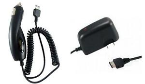Car+Wall Home AC Charger for TracFone Samsung SGH-S125G, T105g T155g T245g T301g