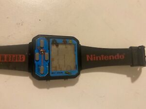 Vintage Nelsonic Super Mario Watch Video Game