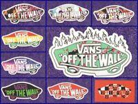 """9 Vans """"Off the Wall"""" Vinyl Stickers"""