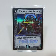 Vashuna Sword Dancer 32/46 - Rare Holo Foil - Light Play - Duel Masters
