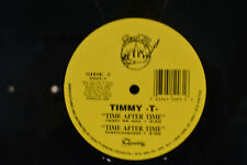 """Timmy T 'Time After Time' 12""""  Single"""