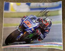 Maverick Vinales signed 16x20 Photo MotogGP Yamaha PROOF
