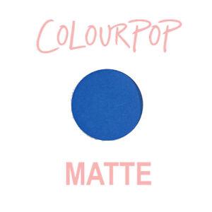 ColourPop Pressed Powder Eye Shadow Pan - BACKSTAGE - matte Cobalt