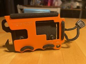 Trayvax Original OG 1.0 Wallet Orange RFID Blocking Limited Edition.