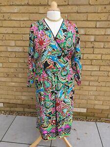 Vintage DIANE FREIS 100% silk two piece - midi skirt & blouse VGC