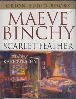 Maeve Binchy Scarlet Feathers 4 Cassette Audio Book Romance Abridged FASTPOST