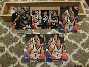 1996 Allen Iverson RC Rookie Lot (5) Score Board, Press Pass Georgetown Hoyas