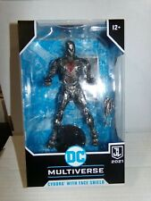 McFarlane Toys Cyborg With Face Shield DC Multiverse 2021 061521DMT2