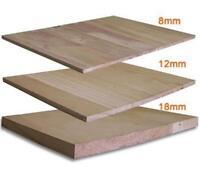 Martial Arts Training Wood Breaking Breakable Boards - 8 mm (90 pcs), 12 mm (64