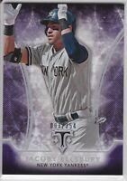 2015 Topps Triple Threads Amethyst Parallel #76 Jacoby Ellsbury 093/354 Yankees