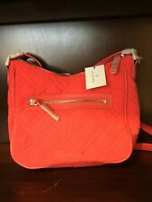 Vera Bradley NEW Double Zip Mail Bag Canyon Sunset Quilted Pattern