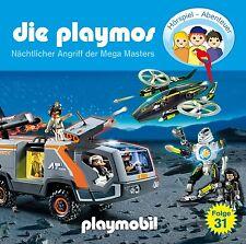 CD * DIE PLAYMOS (31) - NÄCHTLICHER ANGRIFF DER MEGA MASTERS  # NEU OVP  &