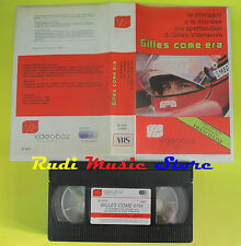 VHS film GILLES VILLENEUVE COME ERA 1990 franco lini VIDEOBOX 011077(F64) no dvd
