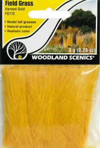 Woodland Scenics ~ New 2021 ~ Field Grass ~ Harvest Gold ~ Any Scale ~ FG172