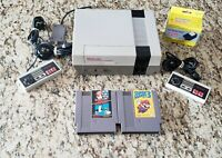 NES System W/ Super Mario Bros 3 Mario/Duckhunt New 72 PIN INSTALLED Nintendo