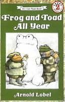 Frog and Toad All Year (I Can Read Level 2) by Arnold Lobel