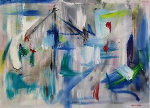 "IRA DAVIDOFF (1929-2004) MOMA, ABSTRACTION, 24"" X 18"""