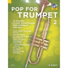 Bye: POP FOR TRUMPET Bd. 2 - 12 Pop-Hits leicht für Trompete - ED 22577