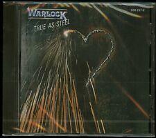 Warlock True As Steel CD new jewel case Doro Pesch