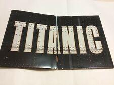 TITANIC 1998 VIDEO PRESS KIT 4 PIX BOOKLET 21 PGS BIO NMINT RARE CLEAN VTG HTF!