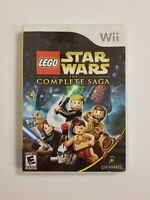 LEGO Star Wars: The Complete Saga (Wii, 2007) Complete Tested