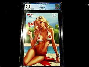 """Satan's Hollow #6 - CGC 9.8 - Fan Expo Canada """"Nice"""" Ed! Limited to 350!"""