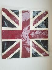 NIP POTTERY BARN TEEN BRITISH FLAG Pillow Cover
