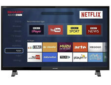 """Sharp 40"""" LED Smart TV Full HD 1080p With Freeview Play HD + Netflix & PVR"""