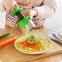 Neue Küche Gemüse Spiral Slicer Obstschneider Peeler Spiralizer Twister Neu D3L5